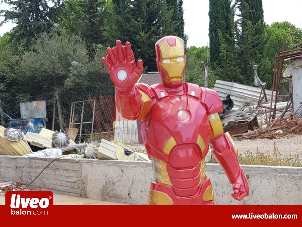 Fiber Polyester Ironman
